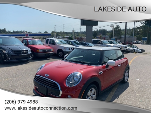 2018 MINI Hardtop 2 Door for sale at Lakeside Auto in Lynnwood WA