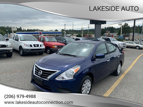 2018 Nissan Versa for sale at Lakeside Auto in Lynnwood WA