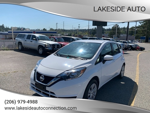 2017 Nissan Versa Note for sale at Lakeside Auto in Lynnwood WA