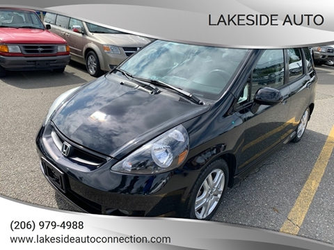 2008 Honda Fit for sale at Lakeside Auto in Lynnwood WA