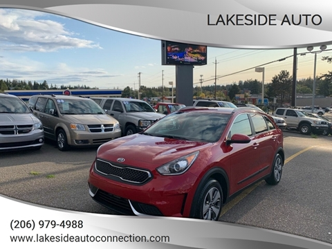 2019 Kia Niro for sale at Lakeside Auto in Lynnwood WA