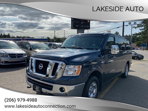 2016 Nissan NV Passenger for sale at Lakeside Auto in Lynnwood WA