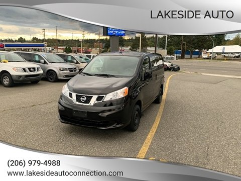 2017 Nissan NV200 for sale at Lakeside Auto in Lynnwood WA