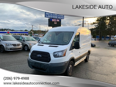 2018 Ford Transit Cargo for sale at Lakeside Auto in Lynnwood WA