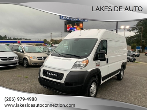 2019 RAM ProMaster Cargo for sale at Lakeside Auto in Lynnwood WA