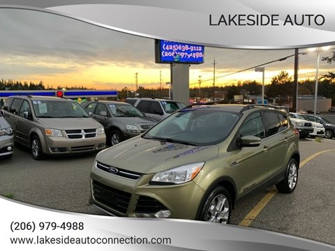 2013 Ford Escape for sale at Lakeside Auto in Lynnwood WA