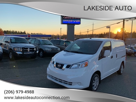2018 Nissan NV200 for sale at Lakeside Auto in Lynnwood WA