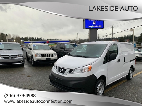 2019 Nissan NV200 for sale at Lakeside Auto in Lynnwood WA