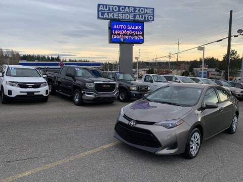 2018 Toyota Corolla for sale at Lakeside Auto in Lynnwood WA