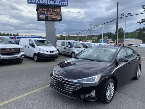 2020 Hyundai Elantra for sale at Lakeside Auto in Lynnwood WA
