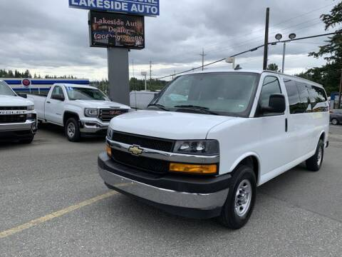 2018 Chevrolet Express Passenger for sale at Lakeside Auto in Lynnwood WA