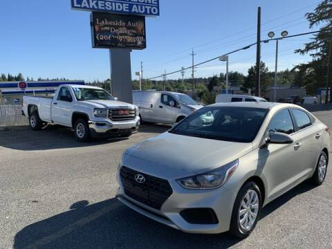 2018 Hyundai Accent for sale at Lakeside Auto in Lynnwood WA