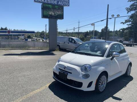 2018 FIAT 500 for sale at Lakeside Auto in Lynnwood WA
