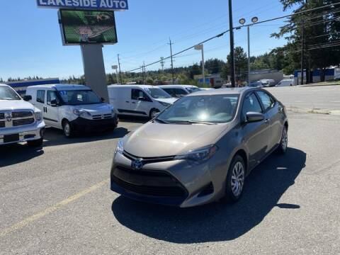 2019 Toyota Corolla for sale at Lakeside Auto in Lynnwood WA