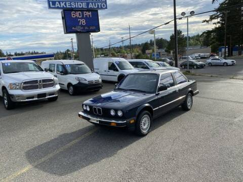 1984 BMW 3 Series for sale at Lakeside Auto in Lynnwood WA