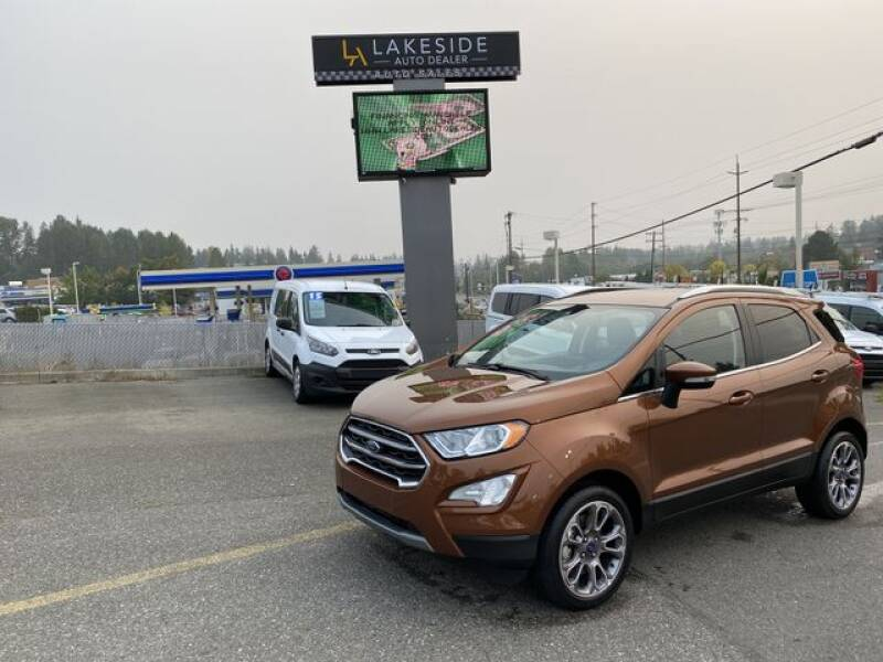 2020 Ford EcoSport for sale at Lakeside Auto in Lynnwood WA