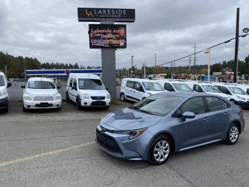2020 Toyota Corolla for sale at Lakeside Auto in Lynnwood WA