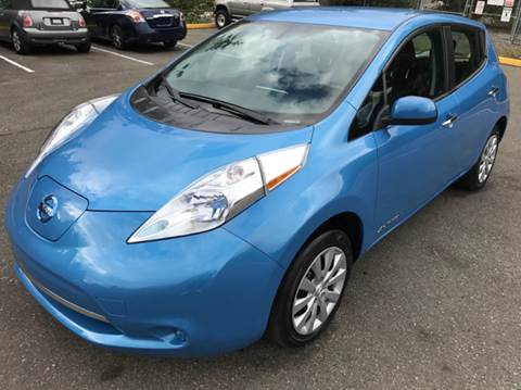 2014 Nissan LEAF for sale at Lakeside Auto Connection in Kirkland WA