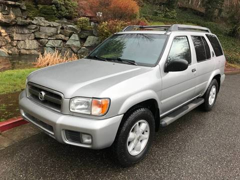 2002 Nissan Pathfinder for sale at Lakeside Auto Connection in Kirkland WA