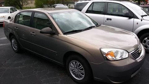 2007 Chevrolet Malibu for sale in Warren, OH