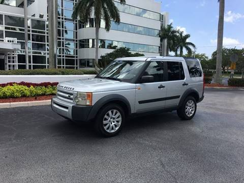 2005 Land Rover LR3 for sale at AUTO HOUSE FLORIDA in Pompano Beach FL