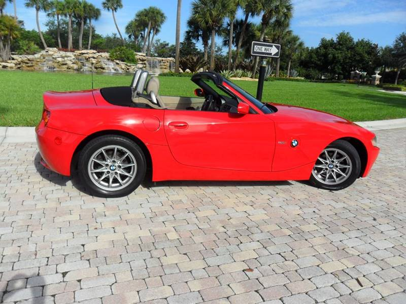 2004 BMW Z4 for sale at AUTO HOUSE FLORIDA in Pompano Beach FL
