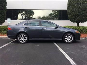 2006 Acura TSX for sale at AUTO HOUSE FLORIDA in Pompano Beach FL