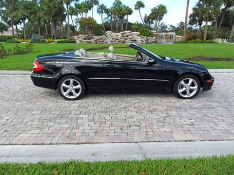 2005 Mercedes-Benz CLK for sale in Pompano Beach, FL