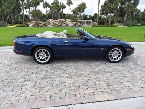 2001 Jaguar XKR for sale at AUTO HOUSE FLORIDA in Pompano Beach FL