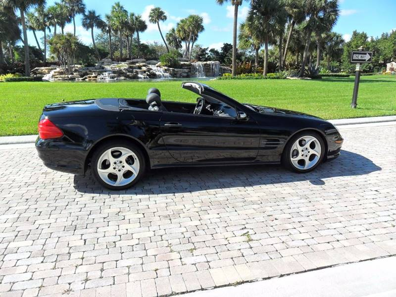 2005 Mercedes Benz SL Class For Sale At AUTO HOUSE FLORIDA In Pompano Beach