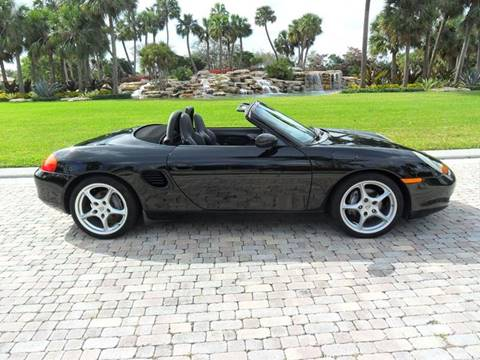 2002 Porsche Boxster for sale at AUTO HOUSE FLORIDA in Pompano Beach FL