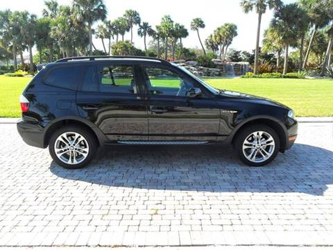 2008 BMW X3 for sale at AUTO HOUSE FLORIDA in Pompano Beach FL