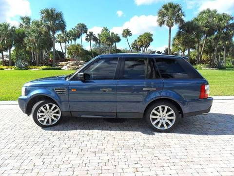 2006 Land Rover Range Rover Sport for sale at AUTO HOUSE FLORIDA in Pompano Beach FL