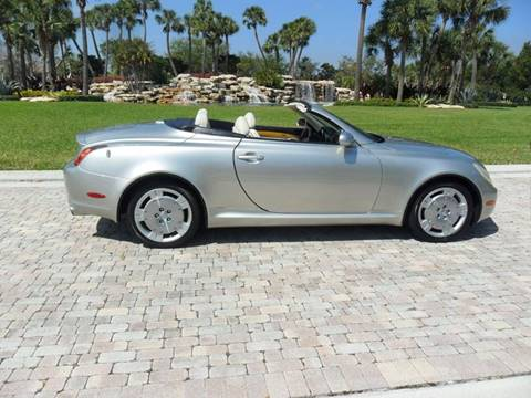 2003 Lexus SC 430 for sale at AUTO HOUSE FLORIDA in Pompano Beach FL
