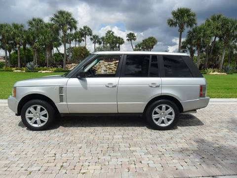 2006 Land Rover Range Rover for sale at AUTO HOUSE FLORIDA in Pompano Beach FL