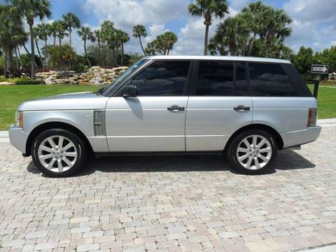 2008 Land Rover Range Rover for sale at AUTO HOUSE FLORIDA in Pompano Beach FL