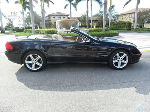 2004 Mercedes-Benz SL-Class for sale at AUTO HOUSE FLORIDA in Pompano Beach FL