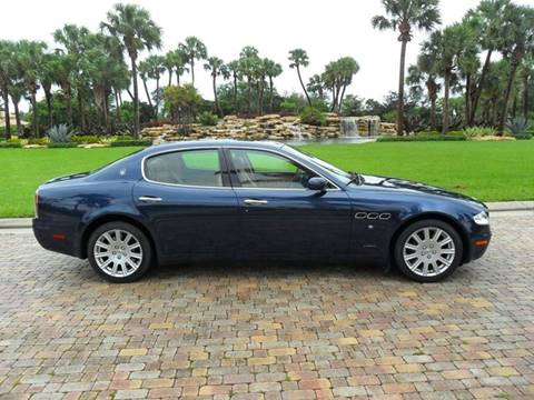 2007 Maserati Quattroporte for sale at AUTO HOUSE FLORIDA in Pompano Beach FL