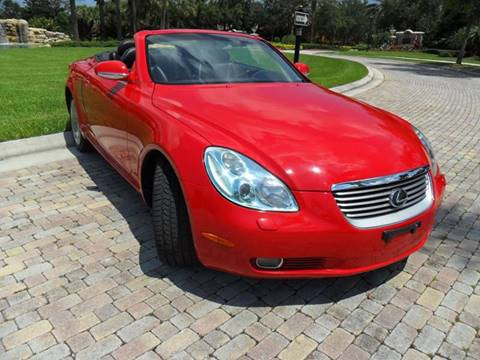 2004 Lexus SC 430 for sale at AUTO HOUSE FLORIDA in Pompano Beach FL