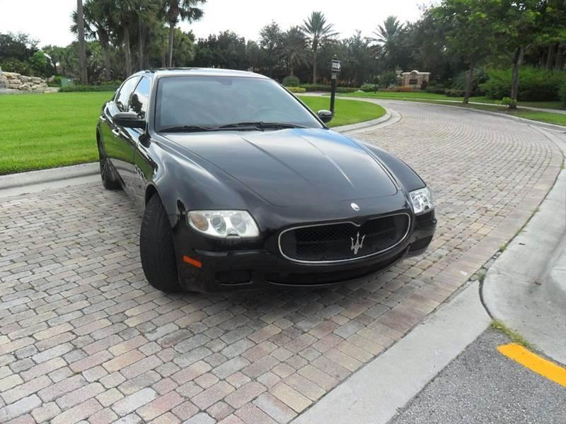 2006 Maserati Quattroporte for sale at AUTO HOUSE FLORIDA in Pompano Beach FL