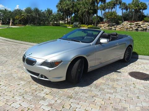 2006 BMW 6 Series for sale at AUTO HOUSE FLORIDA in Pompano Beach FL