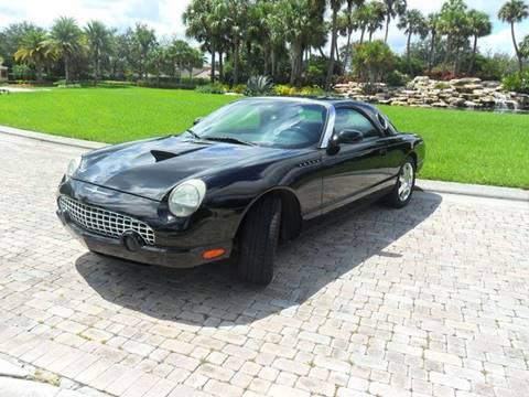 2002 Ford Thunderbird for sale at AUTO HOUSE FLORIDA in Pompano Beach FL