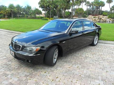 2008 BMW 7 Series for sale at AUTO HOUSE FLORIDA in Pompano Beach FL