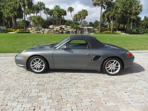 2003 Porsche Boxster for sale at AUTO HOUSE FLORIDA in Pompano Beach FL