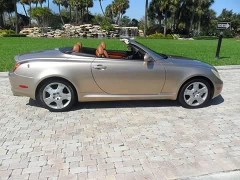 2004 Lexus SC 430 for sale at AUTO HOUSE FLORIDA in Pompano Beach FL