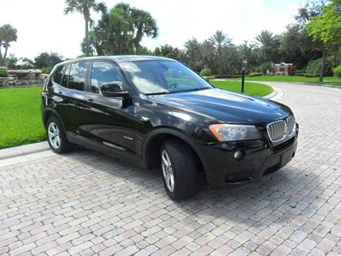 2011 BMW X3 for sale at AUTO HOUSE FLORIDA in Pompano Beach FL