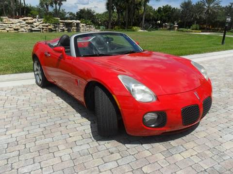 2007 Pontiac Solstice for sale at AUTO HOUSE FLORIDA in Pompano Beach FL