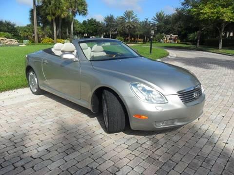2003 Lexus SC 430 for sale at AUTO HOUSE FLORIDA in Pompano Beach FL