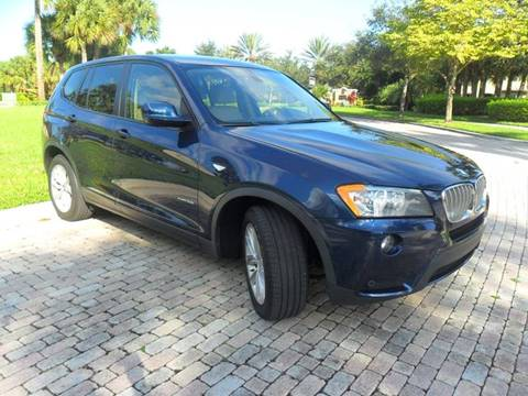 2013 BMW X3 for sale at AUTO HOUSE FLORIDA in Pompano Beach FL