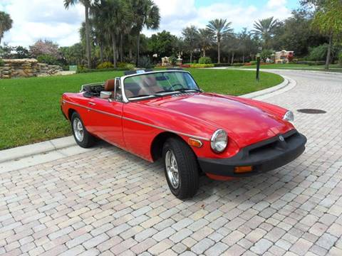 1979 MG MGB for sale at AUTO HOUSE FLORIDA in Pompano Beach FL